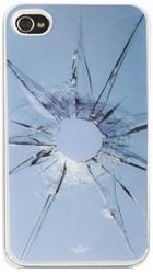 Telefoonhoes Dresz iPhone 4/4S motief glas