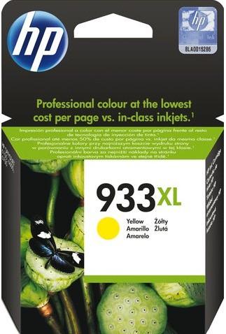 Inktcartridge HP CN056AE 933XL geel HC