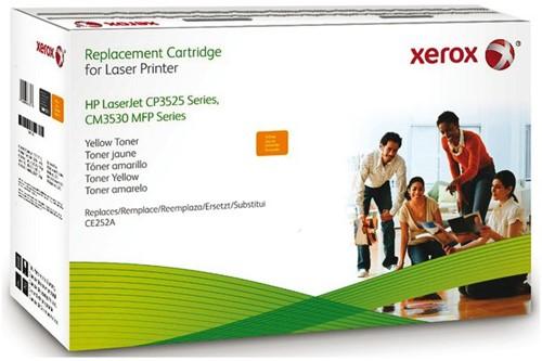 Tonercartridge Xerox 106R01585 HP CE252A 504A geel