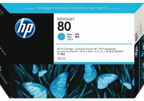 Inktcartridge HP C4846A 80 blauw
