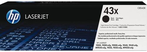 Tonercartridge HP C8543X 43X zwart HC