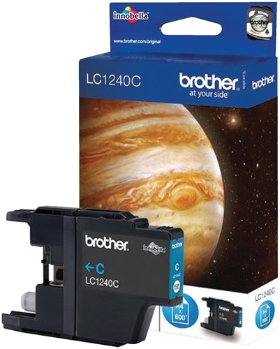 Inktcartridge Brother LC-1240C blauw