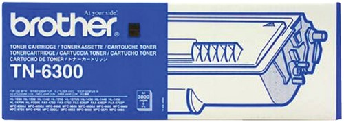Tonercartridge Brother TN-6300 zwart