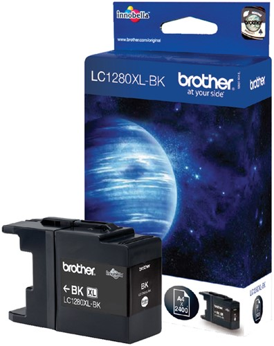 Inktcartridge Brother LC-1280XLBK zwart HC