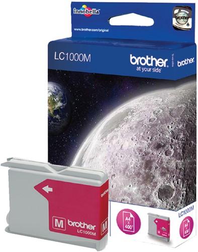 Inktcartridge Brother LC-1000M rood