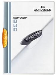 Klemmap Durable 2260 swingclip oranje
