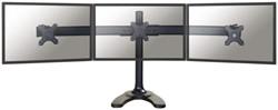 """monitorarm Newstar D700DD3 3x10-27"""" op voet zwart"""