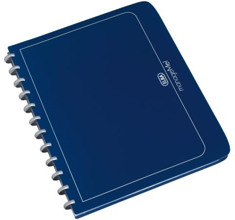 Showalbum Elba Vario-Zipp A4 25-tassen donkerblauw
