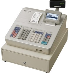 Kassa Sharp XE-A207W wit