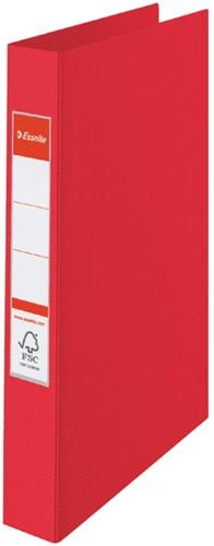 Ringband Esselte Vivida A4 2-rings O-mech 25mm PP rood