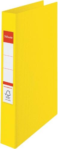 Ringband Esselte Vivida A4 4-rings O-mech 25mm PP geel