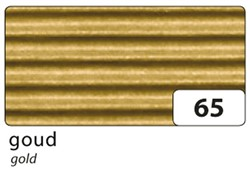 Golfkarton Folia E-golf 50x70cm 250gr nr65 goud