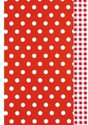 Apparaatrol Kaleidoscope 175mx30cm dots/vichy rood