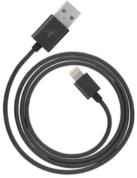 LIGHTNING CHARGE + SYNC CABLE 2M 1 STUK