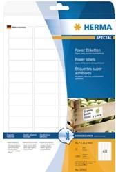 Etiket Herma 10902 45.7x21.2mm extra sterk wit 1200stuks