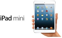 IPAD MINI APPLE 64GB WIFI + CELLULAR WIT 1 STUK