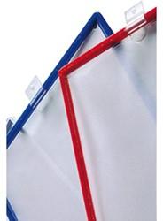 Infotas Flex-O-Frame met ophangring A4 blauw