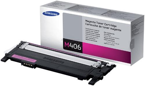 Tonercartridge Samsung CLT-M406S rood