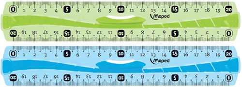 Liniaal Maped 244120 Flex soft 200mm assorti