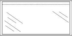 Paklijstenvelop CleverPack zelfklevend blanco din-lang 100st