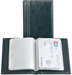 Creditkaart etui Palermo 40stuks zwart