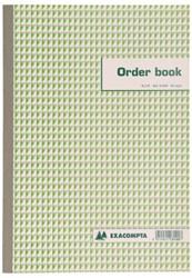Orderboek Exacompta 297x210mm 50x2vel