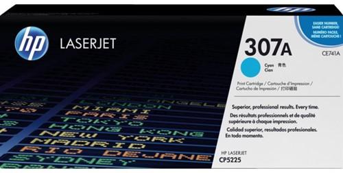 Tonercartridge HP CE741A 307A blauw