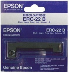 Lint Epson S015204 voor ERC22 nylon zwart