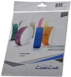 Polsband Combicraft Tyvek rood