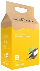 Inkcartridge Wecare Brother LC-1240 geel