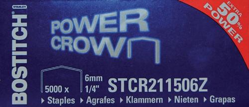 Nieten Bostitch B8 staal STRC2115 6mm gebogen rug 5000stuks