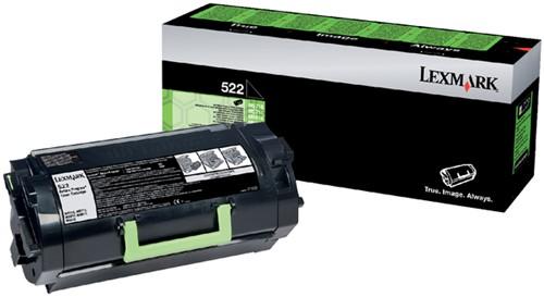 Tonercartridge Lexmark 52D2000 prebate zwart