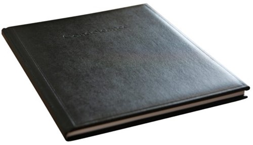 Condoleancealbum Kangaro 260x210mm zwart