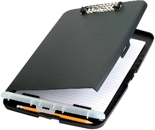 Klembordkoffer Oic 83321 kunststof kopklem donkergrijs
