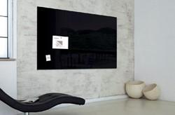Glasbord Sigel magnetisch 1200x900x18mm zwart