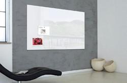 Glasbord Sigel magnetisch 1800x1200x18mm wit