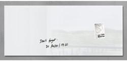 Glasbord Sigel magnetisch 1300x550x15mm wit