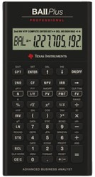 Rekenmachine TI Ba II professional