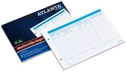 Werkbriefje Atlanta A5425-014 A5 dagelijks 50vel