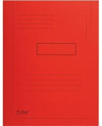 Dossiermap Exacompta Forever 290gr 2kleppen rood