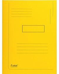 Dossiermap Exacompta Forever 290gr 2kleppen geel