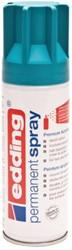 Verfspuitbus edding 5200 permanent spray mat petrol