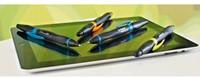 Balpen Stabilo Smartball rechts zwart/kiwi 0.5mm-2