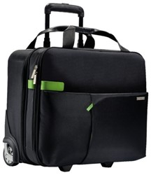 "Laptoptas Trolley Leitz Smart Traveller 15.6"" zwart"