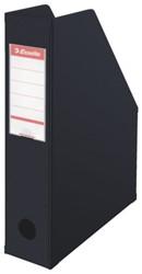 Tijdschriftcassette Esselte Vivida opvouwbaar zwart