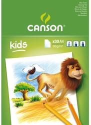 TEKENBLOK CANSON KIDS A4 30V 90GR 30 VEL