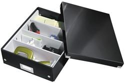 Opbergbox Leitz Click & Store 280x100x370mm zwart