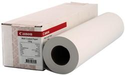 Inkjetpapier Canon 432mmx30m 180gr mat gecoat