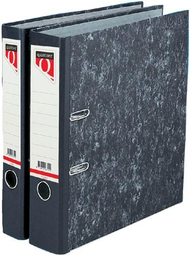 Ordner Quantore A4 50mm karton gewolkt