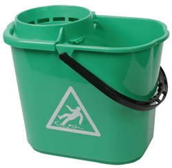 Mopemmer met korf groen